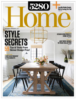 Designer Linda Mounce Was Featured In The October/November Issue Of 5280  Home Magazine. Read The Full Article: Cool, Calm U0026 Collected